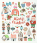 Preview: Charmingsticker Merry Christmas