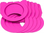 Laternenrohling rund mittel pink