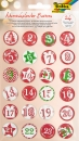Adventskalender Buttons 1-24